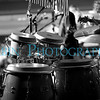 Drums in Black and White.