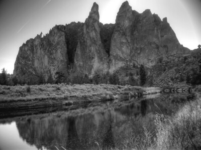 Smith Rock State Park - The Phoenix Buttress  Oregon, USA