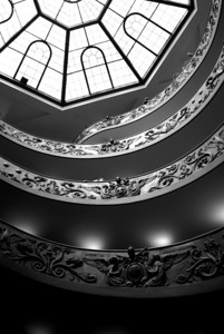 Staircase, Vatican Museum - Rome