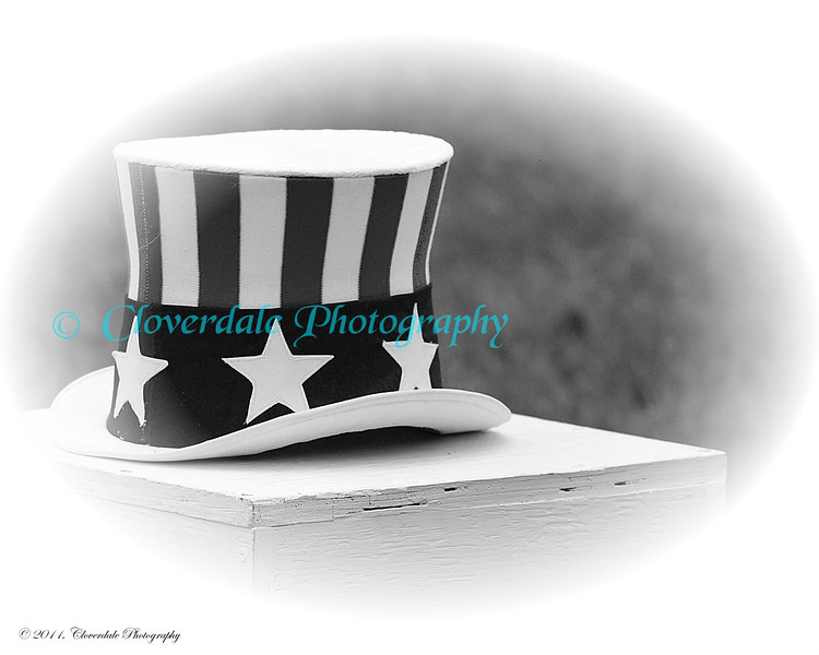 Uncle Sam's Hat B&W-8x10
