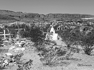 Ghost Town graveyard, Terlingua Texas