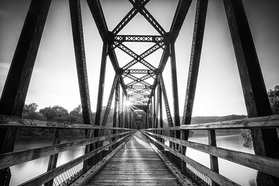 Hiwassee Bridge on the New River Trail, VA
