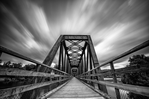 Hiwassee Bridge Blur