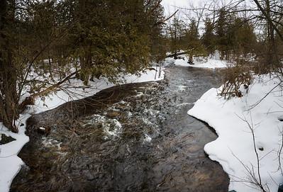 River Pan From Bridge