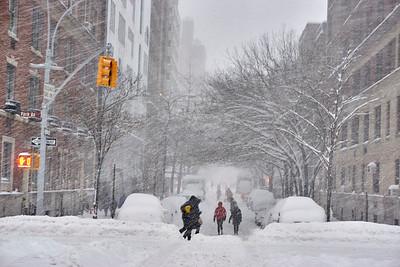 Blizzard Jonas NYC