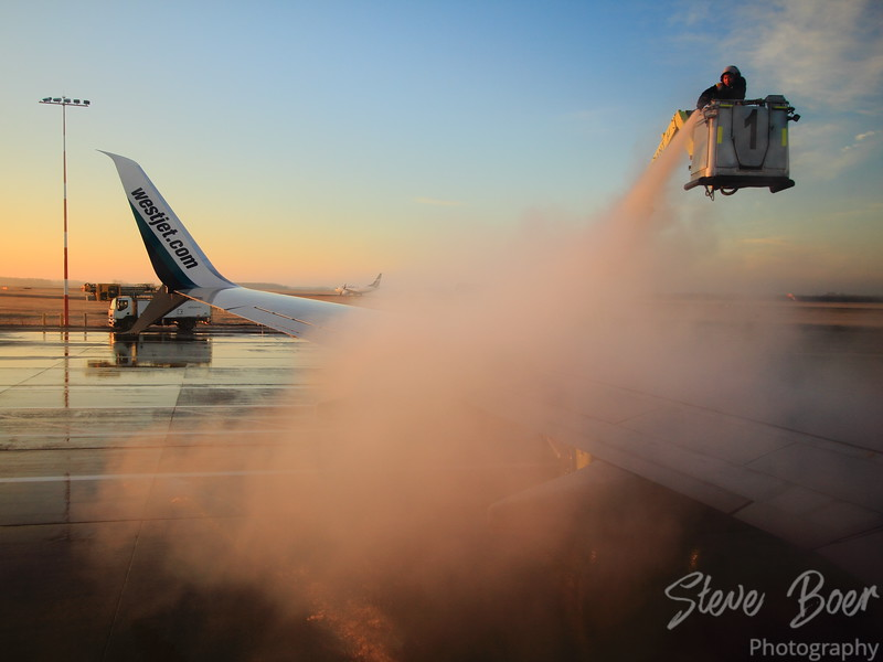 Early Morning De-Icing