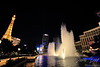 Wide view of Bellagio fountain
