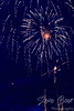 Fireworks with camera shake