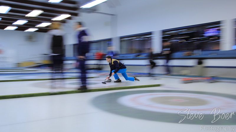 Curling Panning Shot
