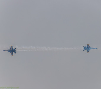 Blue angles, Seattle 2017
