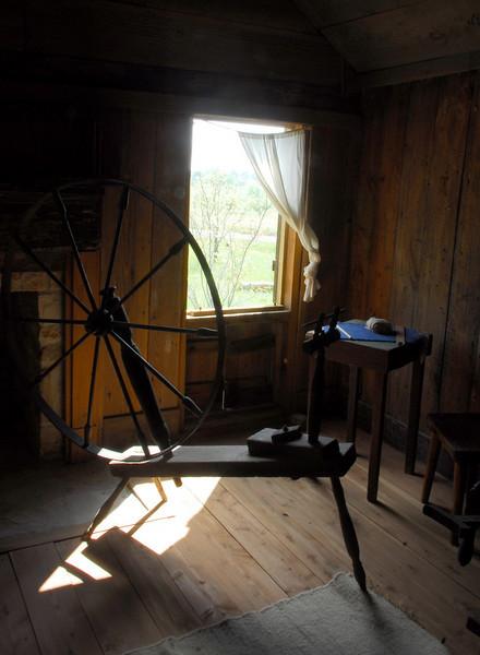 Spinning Wheel at Old Baylor