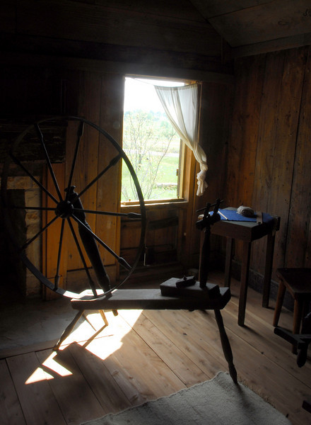 Spinning Wheel at Old Baylor