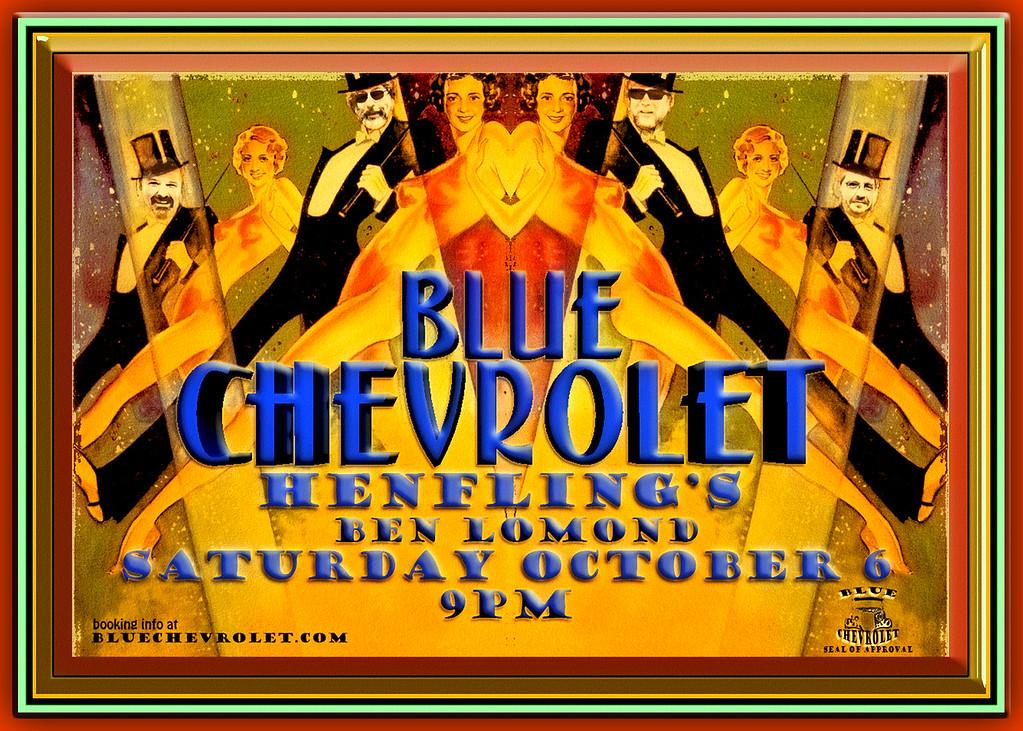 Blue Chevrolet at Henfling's Tavern, 10-6-2012