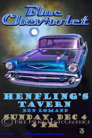 Blue Chevrolet at Henfling's Tavern, 12-04-2011