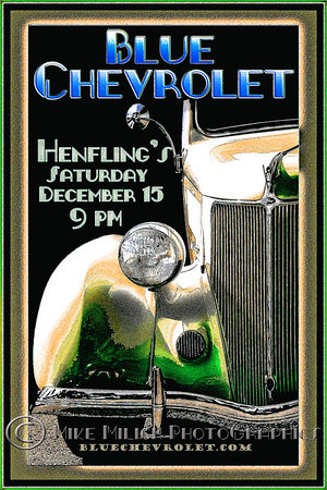 Blue Chevrolet at Henfling's Tavern, 12-15-2012