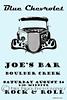 Blue Chevrolet at Joe's Bar, Boulder Creek 8-14-2010