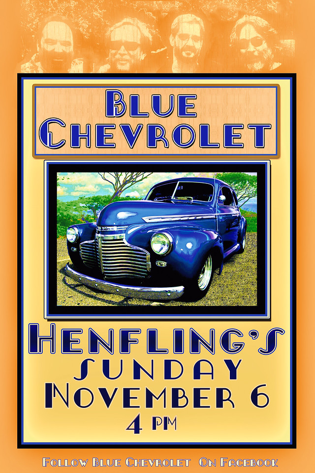 Blue Chevrolet Live at Henfling's Tavern 11/6/2016