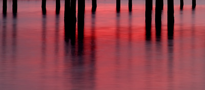 Sunset Piers- Red