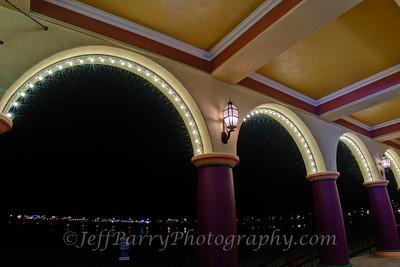 Boardwalk Colonnade Arches
