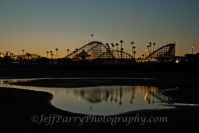 Giant Dipper twilight reflection 001