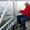 Que's fishing for stripers on Lake Texoma.