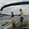 Fishing buddies, Lake Whitney, South of Fort Worth