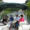 Great friends, first outing with the new boat.
