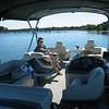 Lake Ray Roberts, and boy, is this boat good for relaxing on lovely day.
