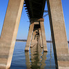 Lake Texoma railroad bridge
