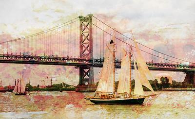 A Painterly Sail