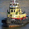 "Yellow tugboat ""Florida"""