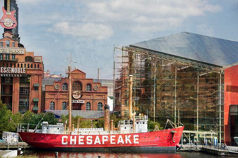 Rocking the Chesapeake