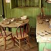 Diningroom in Bodie, California