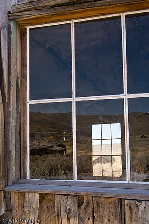 Reflections on a Window - Bodie, CA, USA