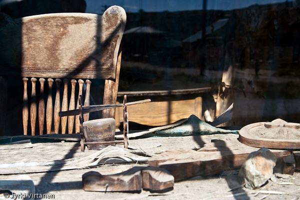 Dusty Table - Bodie, CA, USA