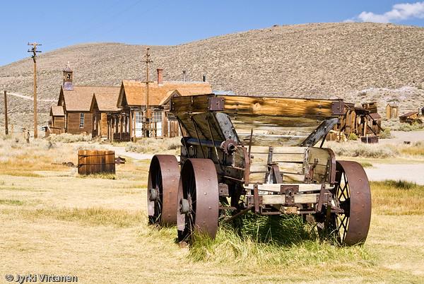 Ore Cart - Bodie, CA, USA