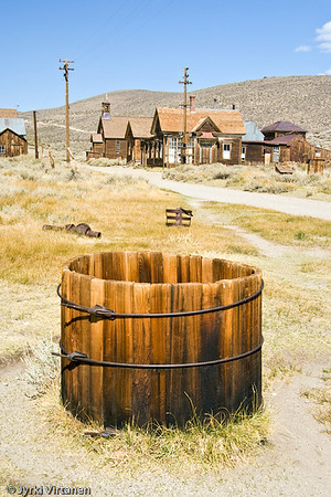 Wooden Barrell - Bodie, CA, USA