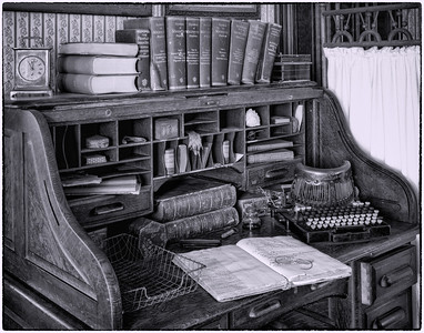 """The Doctor's Desk"""