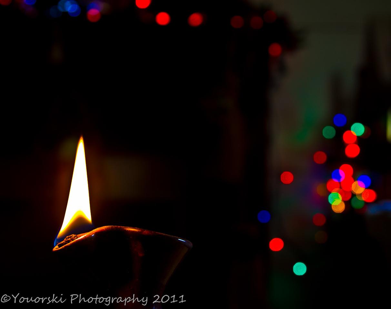 Chrsitmas candle