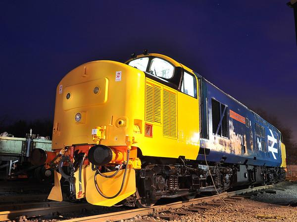 Bo'ness and Kinneil Railway diesel gala. 28/12/13