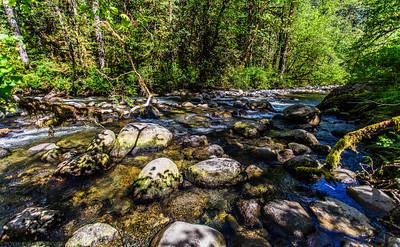 Wallace fals state park, WA