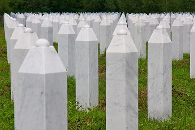 Srebrenica Genocide memorial – Srebrenica/Potocari, Bosnia and Herzegovina