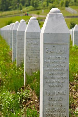 Srebrenica Genocide memorial [about] - Srebrenica/Potocari