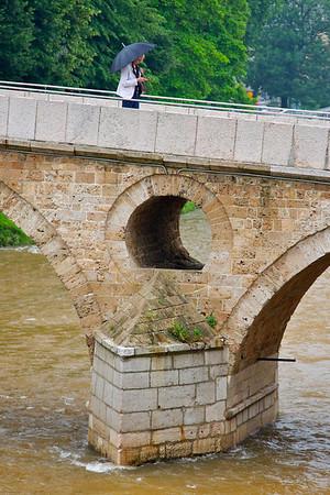 """Latin (""""Princip"""") Bridge - Sarajevo"""