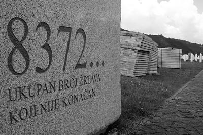 Victims, Srebrenica Genocide memorial [about] - Srebrenica/Potocari