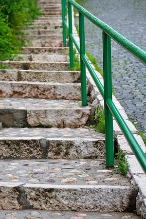Street steps - Sarajevo
