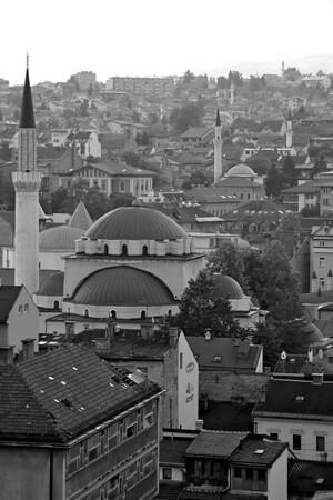 Mosques across Sarajevo