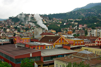 Factories and houses - Sarajevo