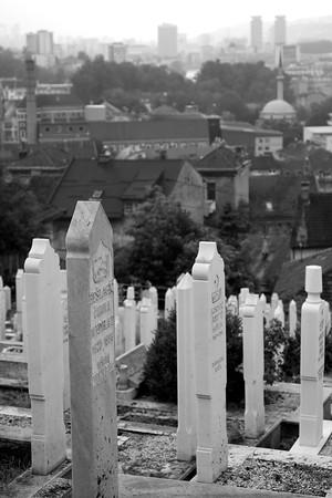 Hilltop cemetery - Sarajevo
