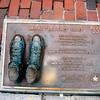 Larry Bird Shoes in Bronze